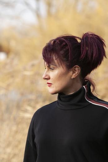 Image of fitness trainer Jill Huskisson taken by photographer Jo Scott
